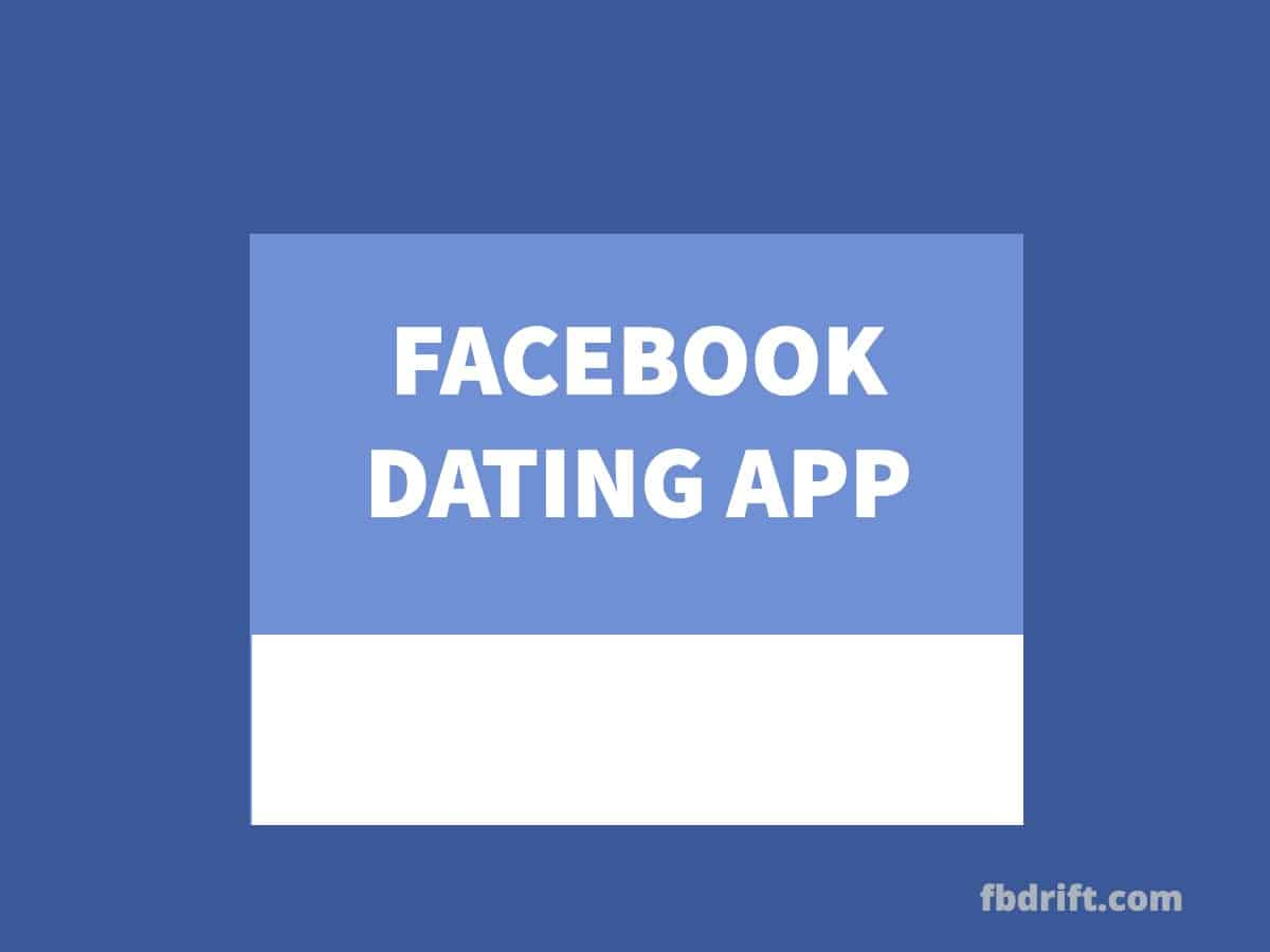 dating on facebook app free